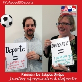 Panamá y los Estados Unidos, Juntos Apoyando elDeporte.